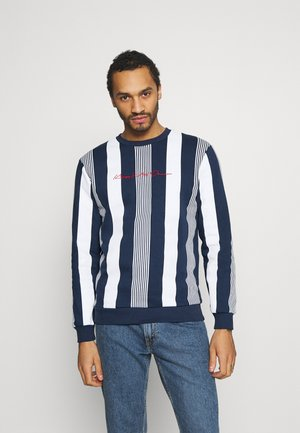 VEDLO CREW - Sweatshirt - navy/white