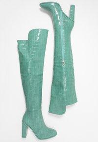 RAID - CYNTHIA - Stivali con i tacchi - turquoise - 3