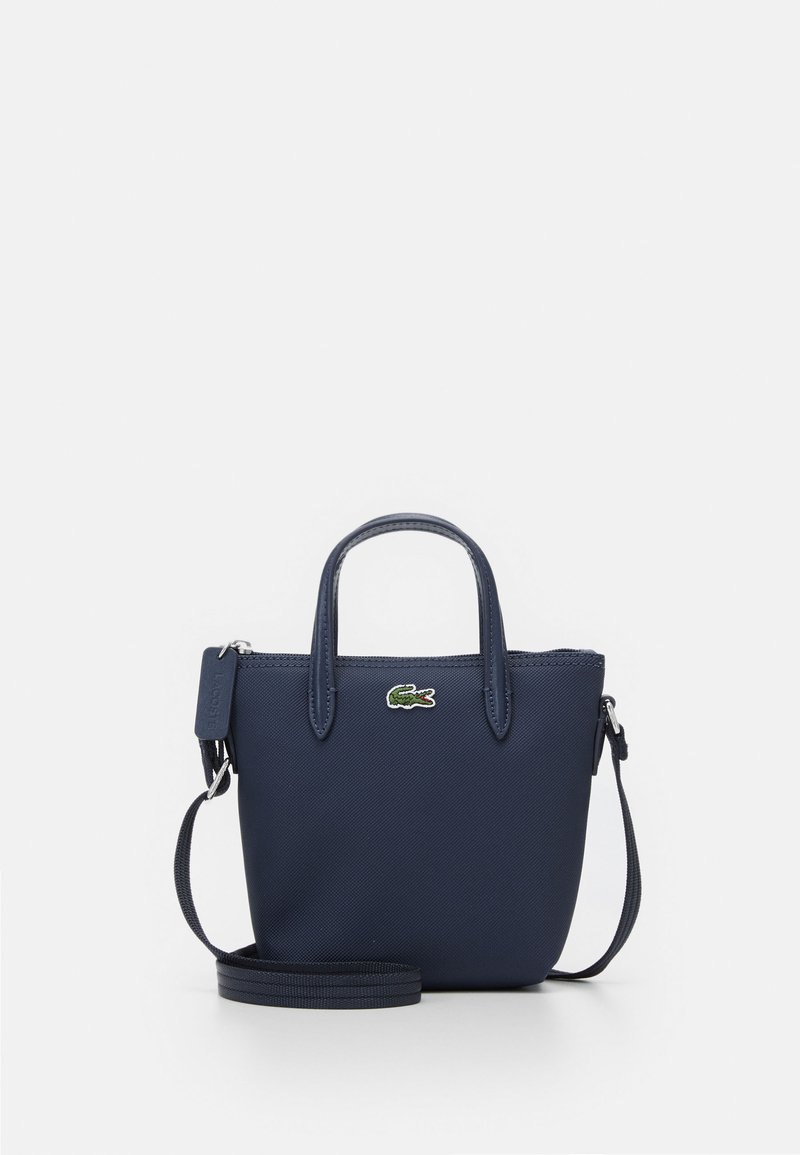 Lacoste - SHOPPING CROSS BAG - Handbag - penombre