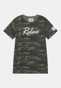 Staccato - TEENAGER - Printtipaita - olive - 0