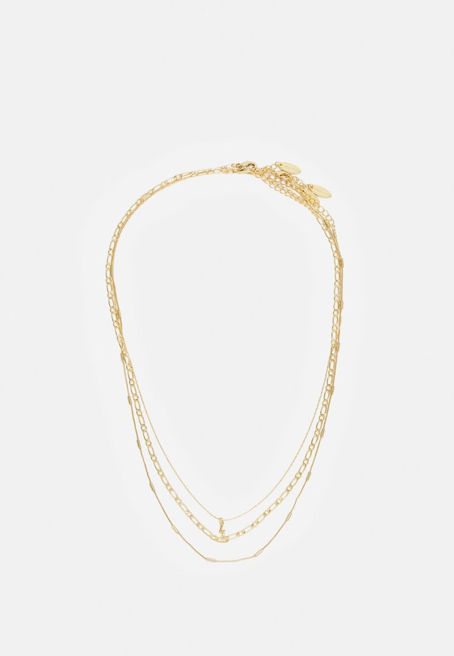 LIGHTNING NECKLACE 3 PACK - Ketting - pale gold-coloured