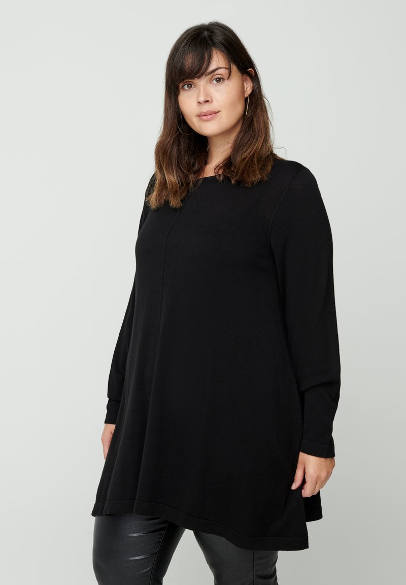 Zizzi - Sweatshirt - black