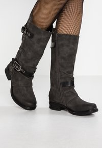 Coolway - GISELE - Cowboy/Biker boots - grey - 0