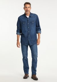 Pioneer Authentic Jeans - RANDO MEGAFLEX - Straight leg jeans - stone used - 1