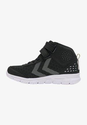 CROSSLITE MID TEX JR - Skate shoes - black