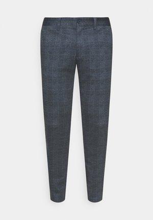 ONSMARK CHECK PANTS - Trousers - dress blues