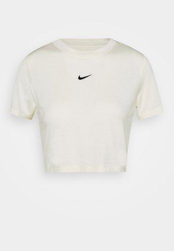 TEE SLIM - T-shirt basique - coconut milk