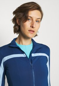J.LINDEBERG - SEASONAL JANICE MID LAYER - Zip-up hoodie - midnight blue - 3
