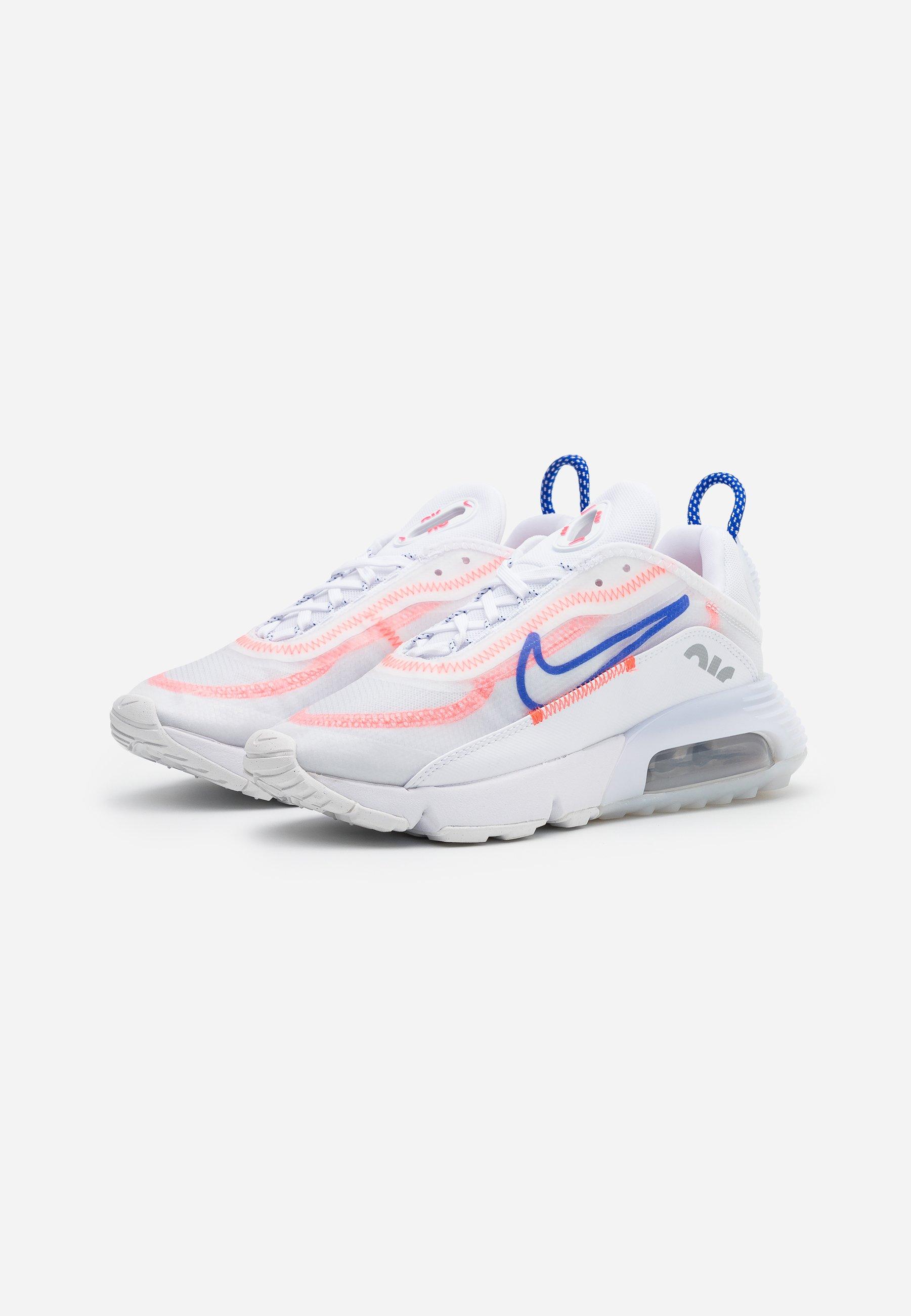Nike Sportswear AIR MAX 2090 Sneaker low white/racer blue/flash crimson/metallic silver/weiß