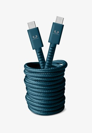 USB-C - USB-C FABRIQ CABLE - Charging cable - petrol blue