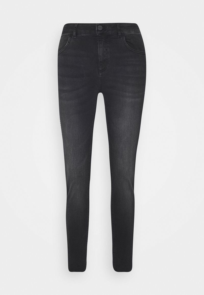 comma - Slim fit jeans - black denim