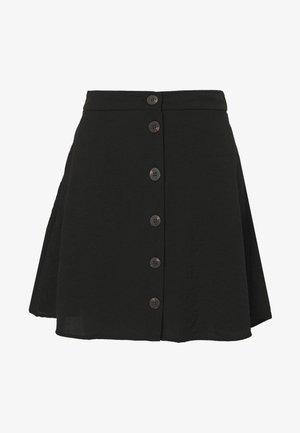 VILINEA SKIRT - A-line skirt - black
