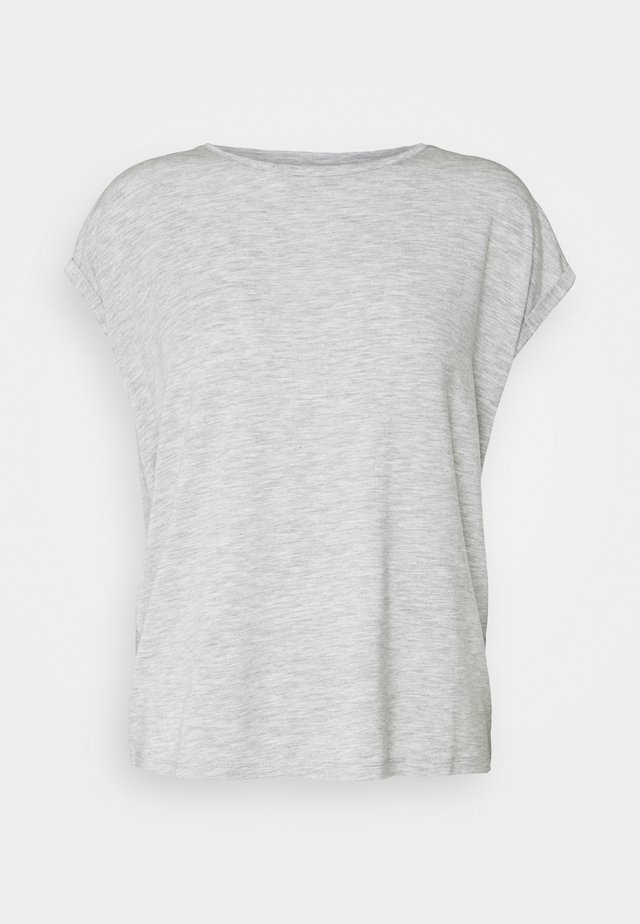 VMAVA PLAIN - T-shirt basique - light grey melange