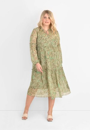 DITSY TIERED  - Day dress - green