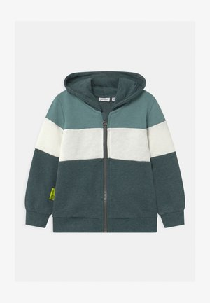 NMMLERIK - Zip-up hoodie - darkest spruce