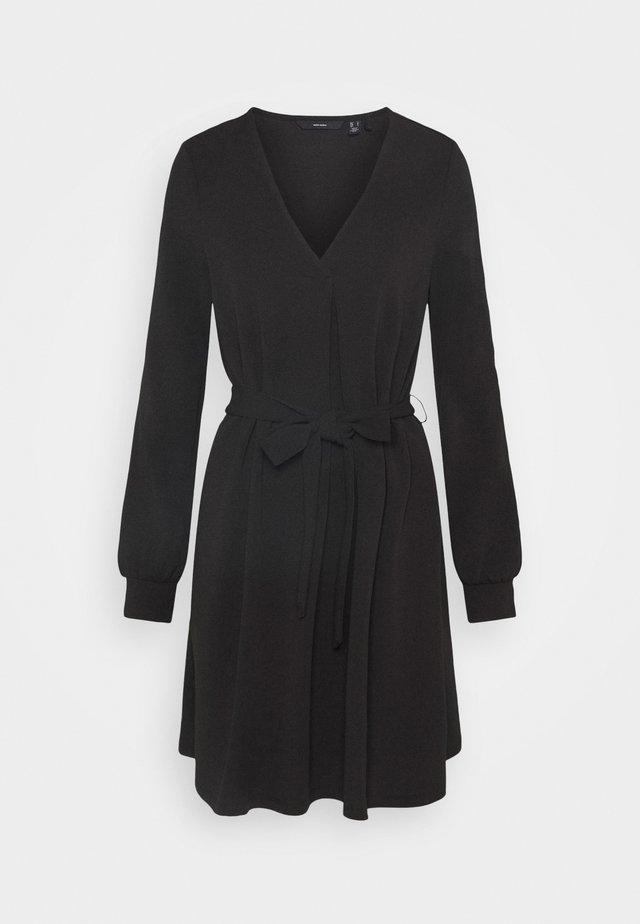 VMCALI SHORT DRESS  - Vapaa-ajan mekko - black