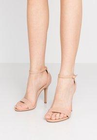 Glamorous Wide Fit - Sandály na vysokém podpatku - beige - 0