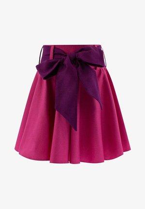 FUCHSIA - Pleated skirt - pink