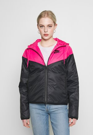 Light jacket - watermelon/black
