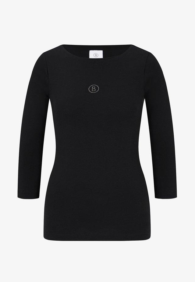 LOUNA - Long sleeved top - schwarz