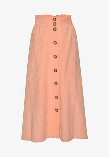A-line skirt - papaya