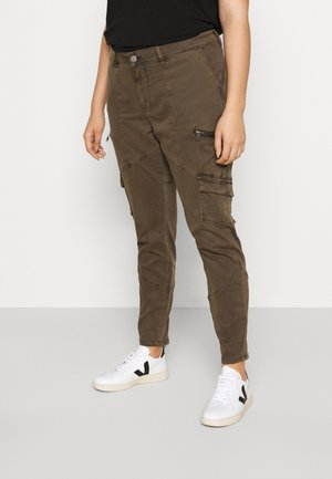 JCAMRYN LONG PANT - Trousers - army green