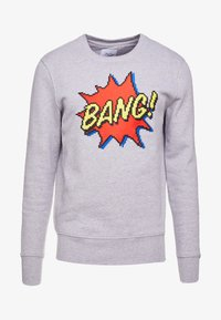 Bricktown - BIG BANG - Sweater - heather grey - 3