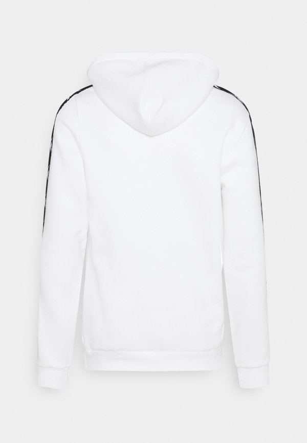 Reebok TAPE HOODIE - Bluza z kapturem - white/biały Odzież Męska GXMB