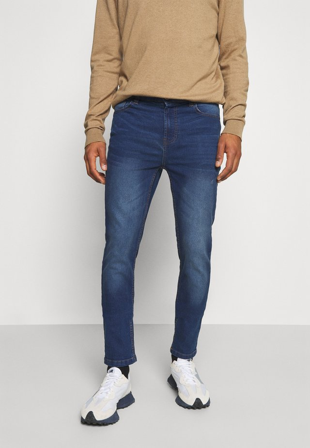 GROTON  - Slim fit jeans - blue