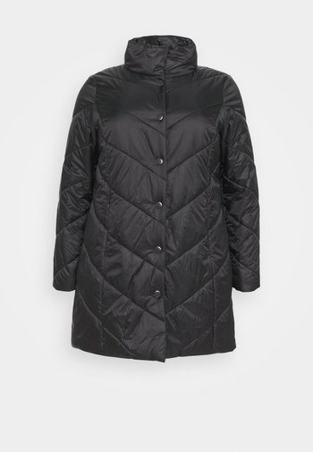 PANTONE - Short coat - black