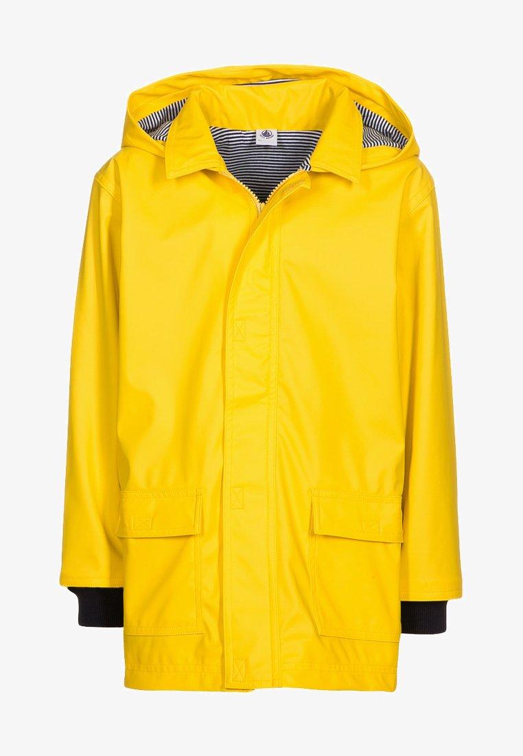 Petit Bateau - FABU - Waterproof jacket - jaune