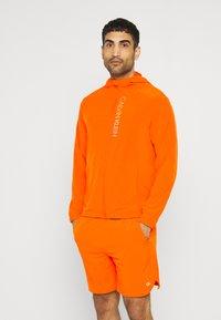 Calvin Klein Performance - PRIDE WINDJACKET - Trainingsvest - danger orange - 0