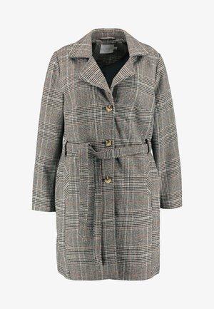 JRKOLON JACKET - Classic coat - black/brown
