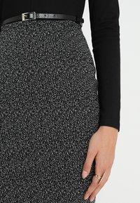 Anna Field - Shift dress - offwhite/black - 5