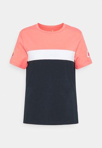 BECAERT TEE - T-shirt print - navy