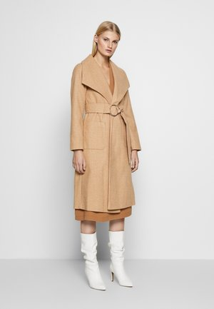 WRAP COAT - Trench - camel