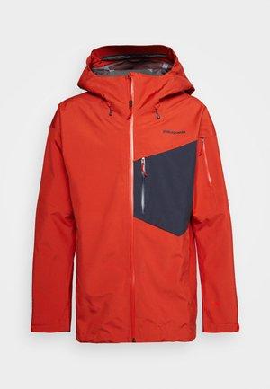 SNOWDRIFTER - Ski jacket - hot ember