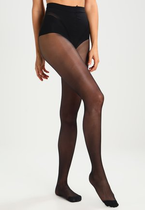 25 DEN DIAMS VENTRE PLAT      - Tights -  noir
