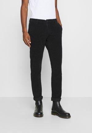 ALBERTSON - Trousers - black