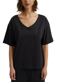 Esprit - Basic T-shirt - black - 4