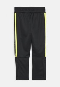 adidas Performance - TIRO STADIUM LEAGUE AEROREADY PANTS - Teplákové kalhoty - black/yellow - 1