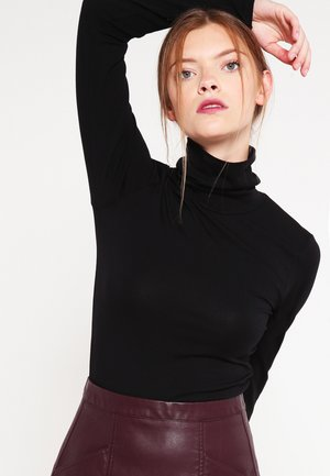 TANNER   - Long sleeved top - black