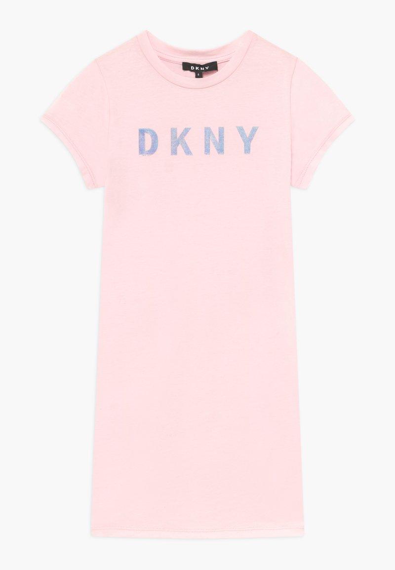 DKNY - SLEEVE DRESS - Jersey dress - pale pink