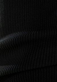 Bershka - Strickkleid - black - 7
