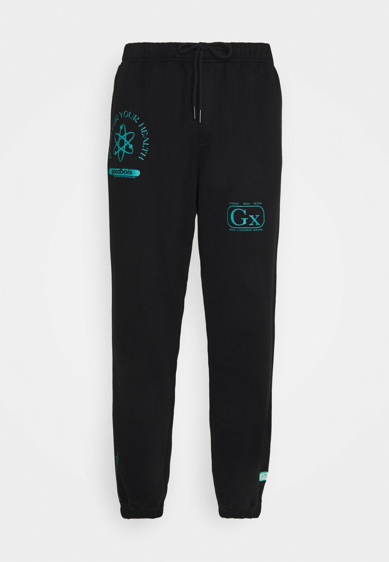GOODBOIS - PILLS PANTS - Teplákové kalhoty - black