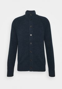 Banana Republic - UTILITY BUTTON - Cardigan - navy heather - 0