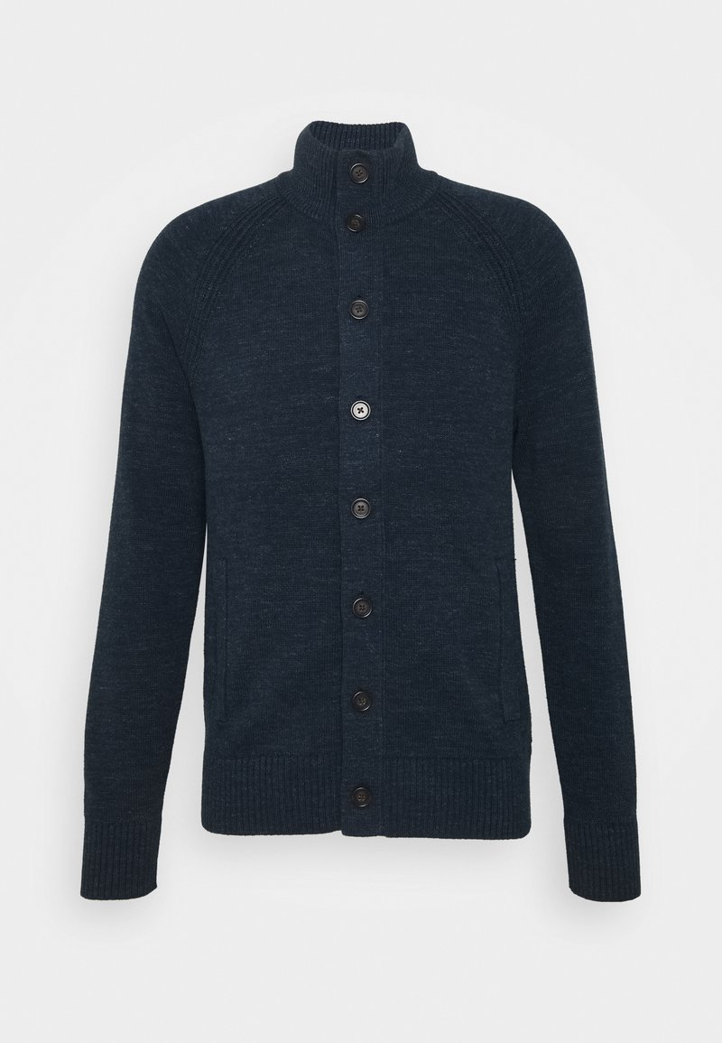 Banana Republic - UTILITY BUTTON - Cardigan - navy heather