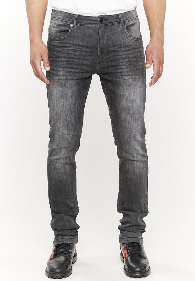 Jeans Slim Fit - grau