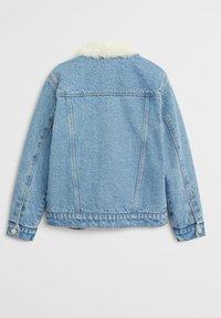 Mango - LISA - Veste en jean - middenblauw - 1