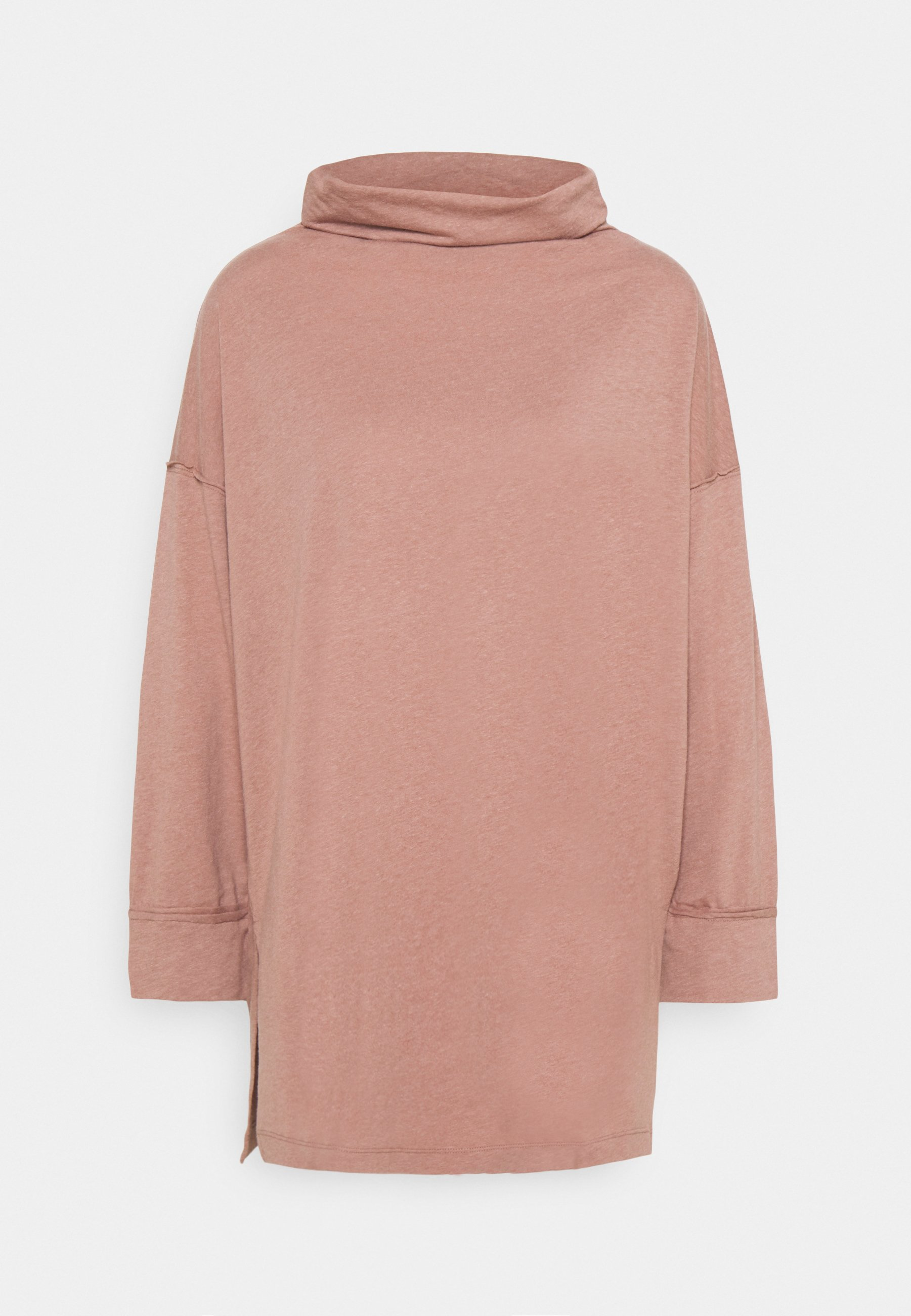 Women FUNNEL NECK TUNIC - Long sleeved top